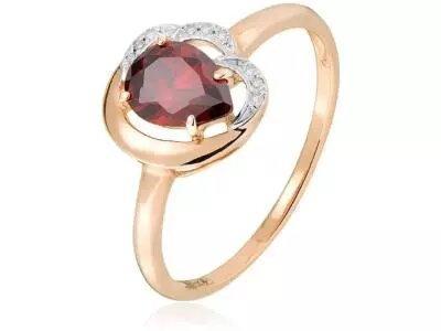 Золотое кольцо Lucente 1214762г_175