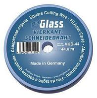 Резальная квадратная струнаProglass, 0,6 х 0,6 мм на пластиковой катушке 44 метра
