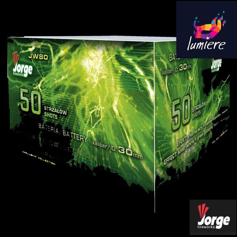Батарея салютов Jorge JW80 EXCLUSIVE COLLECTION