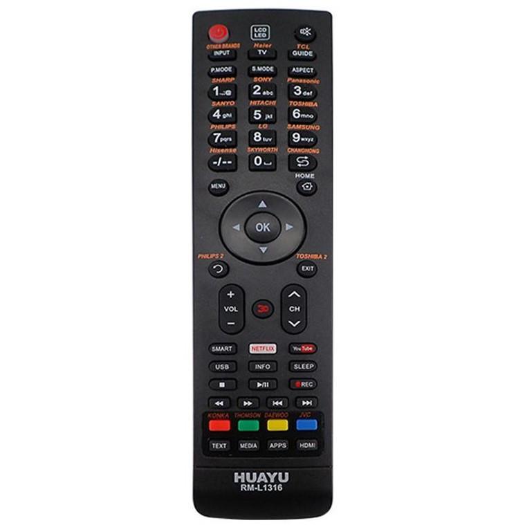 Универсальный пульт ДУ для телевизоров HUAYU RM-L1316 (черный)