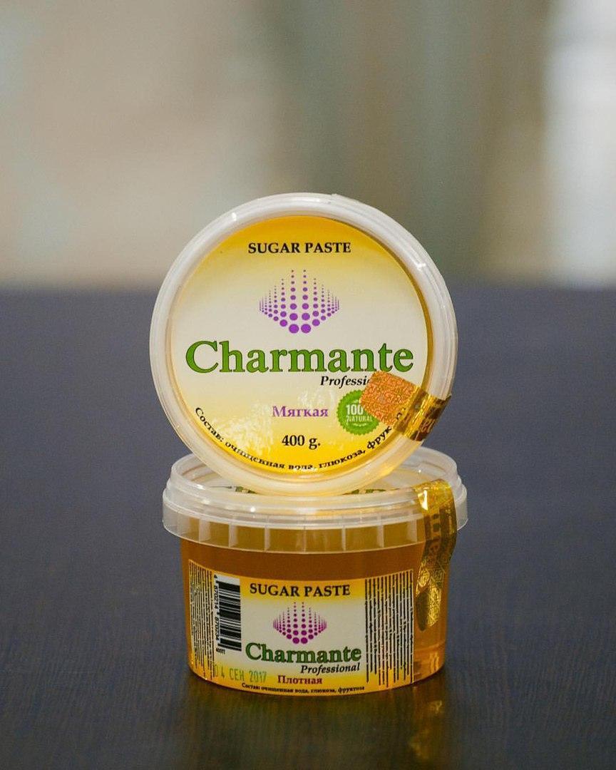 Паста для шугаринга Charmant (мягкая )400 гр