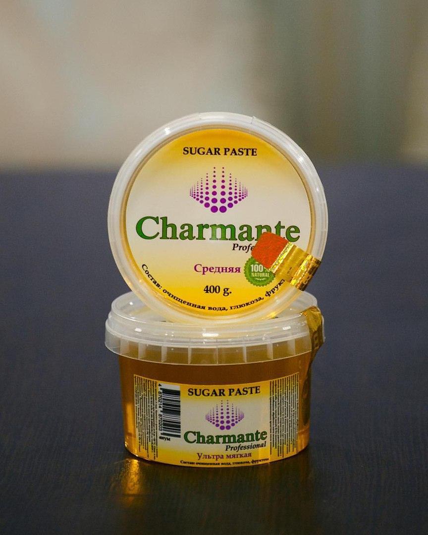 Паста для шугаринга Charmant (средняя )400 гр