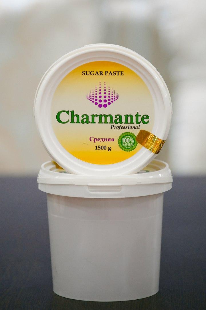 Паста для шугаринга Charmant (средняя )1500 гр