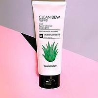 Пенка для умывания Clean Dew Aloe Foam Cleanser