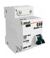 Дифференциальный автомат ДИФ-102 1Р+N 20А 30мА DEKraft 16004DEK