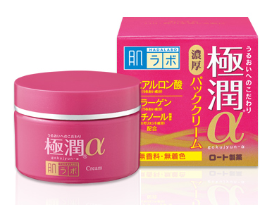 Rohto Hada Labo Gokujyun Aging Care 3D cream Увлажняющий крем 50 гр