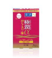 Rohto Hada Labo Gokujyun Aging Care  3D маска для лица  4 шт