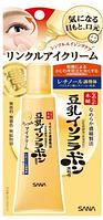 Sana Nameraka Soybean Isofrabon Wrinkle Eye Cream Крем для кожи вокруг глаз, 25 гр