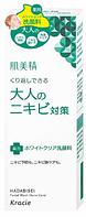 KRACIE Hadabisei Facial Wash Acne Care Средство для очищения лица против акне у взрослых, 110 гр