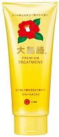 Oshima Tsubaki Premium Treatment Крем для волос с маслом камелии, 180гр