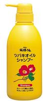KUROBARA Tsubaki Oil Shampoo Шампунь для восстановления поврежденных волос с маслом камелии 500 мл