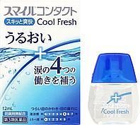Lion Smile Contact Cool Fresh Глазные капли для контактных линз, 12мл