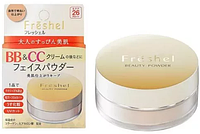KANEBO Freshel Beauty powder BB & CC Минеральная BB & CC пудра с SPF26 PA++, 10гр