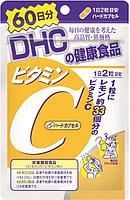 DHC Vitamin C натуральный витамин С, 60 дней