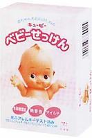 """Туалетное мыло """"QP"""" для детской и чувствительной кожи,90 гр., Cow Brand"""
