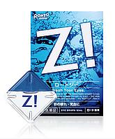 Rohto Z! Глазные капли от усталости глаз,с витамином B6, 12мл