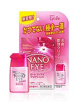 Rohto Nano Eye (розовые) нерастекающиеся капли для линз,6 мл