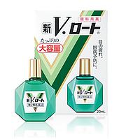 Rohto V - увлажняющие капли с витаминами, 20 мл