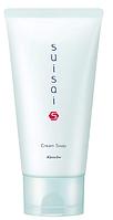 Очищающий крем для утреннего и вечернего умывания Cream Soap Suisai, 125 гр, Kanebo