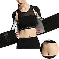 Cool outdoor Dietware sweat sauna -предмет для похудения и коррекции верхней части тела ( живота, талии, груди, рук) Color black размер M