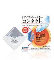 Rohto Eye Stretch Contact. Расслабляющие глазные капли для контактных линз