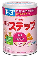 Детская смесь Meiji STEP Powder Milk c 1 до 3-х лет 800 гр порошкообразный