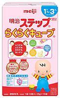 Детская смесь Meiji STEP Powder Milk c 1 до 3-х лет 16 брикетов по 28 гр таблетированный