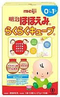Детская смесь Meiji Hohoemi Powder Milk c 0 мес 16 брикетов по 27 гр таблетированный
