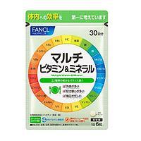Fancl Мультивитамины и Мультиминералы, 180 штук