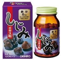 Orihiro Corbicula Extract Экстракт корбикулы (пресноводного моллюска), 120 штук