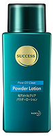 KAO SUCCESS Powder Lotion Мужской лосьон-тонер с абсорбирующей пудрой, 120 мл