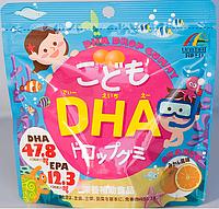 Unimat Riken Омега-3 кислоты для детей, 90 штук
