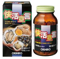 ORIHIRO Устричный экстракт + чеснок и куркума, курс 60 дней