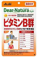 ASAHI Dear-Natura Витамины группы В, курс на 60 дней
