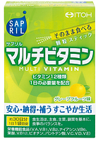 ITOH Sapril MultiVitamin Мультивитаминный комплекс на 30 дней