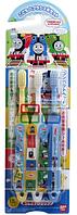 """Bandai Детские зубные щетки для мальчиков """"Паровозик Томас"""", сет 3 шт"""