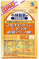 KOBAYASHI Amino Acid Мультивитамины, минералы и аминокислоты, 120 штук на 30 дней