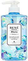 MoltoBene Bene Premium Bluria Shampoo Шампунь для деликатного очищения жирной кожи головы и волос, 480мл