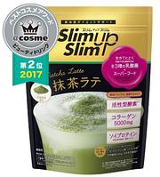 ASAHI SlimUpSlim Matcha Latte Протеиновый детокс-коктейль Матча Латте, 315 гр