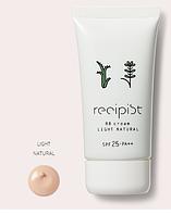 Shiseido Recipist BB Cream с SPF 25 PA++, 50гр, тон Light Natural