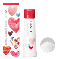 FANCL Facial Washing Powder Heart Средство для умывания в виде порошка, лимитированный дизайн сердца, 50 гр