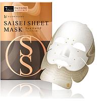 Face line для укрепления овала лица Flowfushi Saisei Sheet Mask Тканевая увлажняющая маска для лица