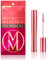 Flowfushi Mote Mascara TECHNICAL GLOSS & CORT Тушь-база для ресниц и бровей