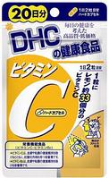 DHC Vitamin C Натуральный витамин С, 20 дней