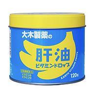 """Vitamin Drops Детские Жевательные витамины """"Рыбий жир"""" со вкусом банана, на 60-120 дней"""