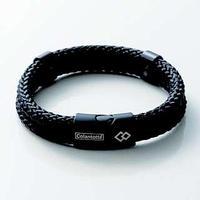 Colantotte Loop AMU bracelet Магнитный браслет, цвет черный, размер S