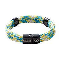 Colantotte Loop AMU bracelet Магнитный браслет, цвет Аква / Желтый, размер S