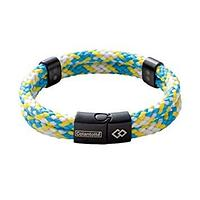 Colantotte Loop AMU bracelet Магнитный браслет, цвет Аква / Желтый, размер M