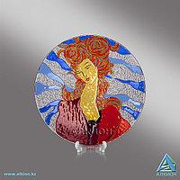 Стеклянная тарелка «Грация» (Сувенир)