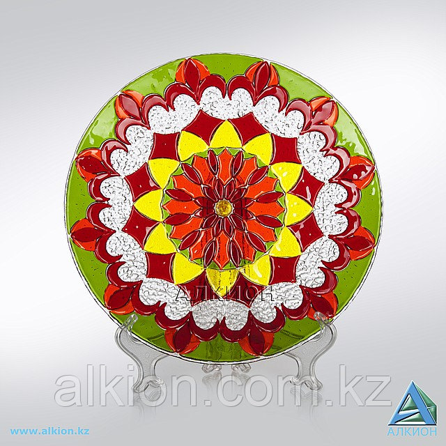 Стеклянная тарелка (Сувенир)